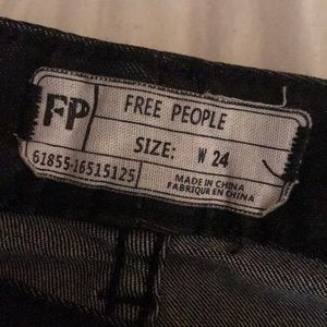 Free people busted knee size 24